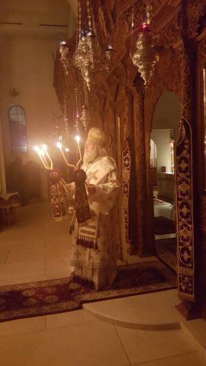 Κερκύρας Νεκτάριος: Ιερά Αγρυπνία για τον Άγιο Σπυρίδωνα στο Σικάγο