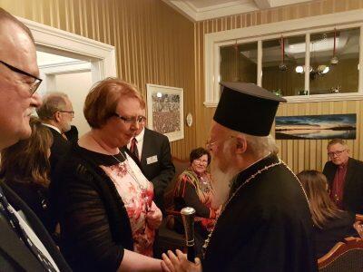 Ο Οικουμενικός Πατριάρχης στην Ισλανδία