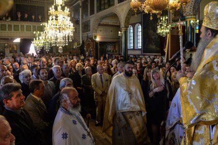 Ο Μητροπολίτης Μετεώρων Θεόκλητος στον Αγιο Δημήτριο Αρκάδων Καλαμάτας