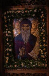 Ο Σύρου Δωρόθεος στην εορτάζουσα Συνοδική και Σταυροπηγιακή Μονή του Αγίου Συμεών