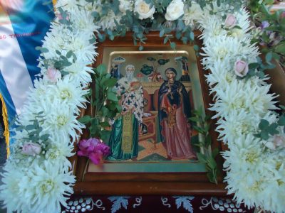 Πανηγυρικός Εσπερινός στον πανηγυρίζοντα Ναό Αγίου Κυπριανού και Ιουστίνης στην Τροιζηνία