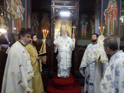 Μητρόπολη Παραμυθίας: Λαμπρή εορτή του Αγίου Αρτεμίου