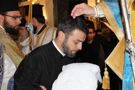 Νέος Διάκονος, πατέρας μιας κόρης στη Μητρόπολη Θεσσαλιώτιδος