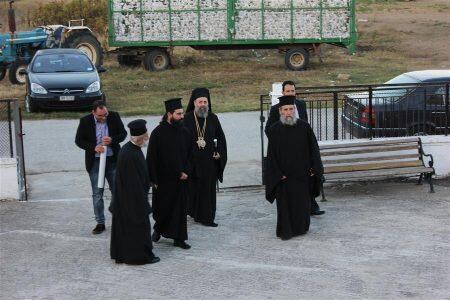 Μητρόπολη Θεσσαλιώτιδος: Θεία Λειτουργία στον Ιερό Ναό Αγίου Γεωργίου Τ.Κ. Πύργου Κιερίου