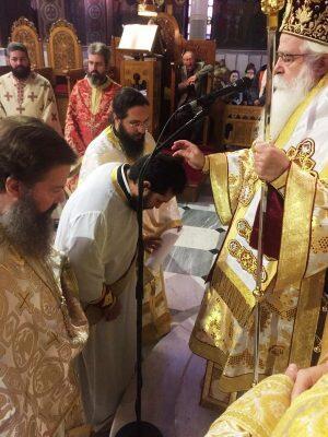 Νέος Πρεσβύτερος στην Εκκλησία Δημητριάδος ,ο πατέρας δύο παιδιών, Αντώνιος Μπογιατζόγλου