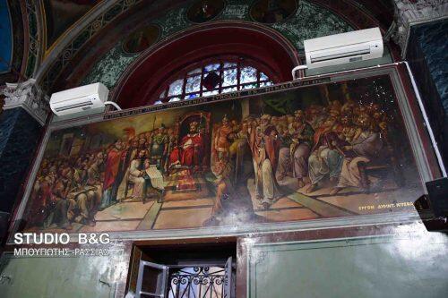 Ναύπλιο: Ξεκίνησαν οι εργασίες ανακαίνισης στον Άγιο Σπυρίδωνα