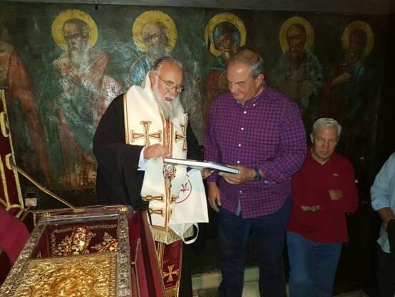 Στο Προσκύνημα του Αγίου Σπυρίδωνος ο πρώην Πρωθυπουργός Κώστας Καραμανλής