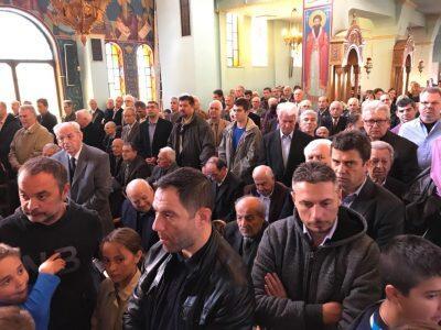 Λάρισα: Χιλιάδες πιστοί στην Εορτή της Παναγίας Εσφαγμένης