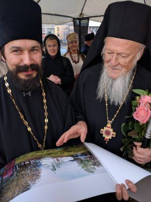 Γυναίκα-Επίσκοπο επικεφαλής Εκκλησίας συνάντησε ο Πατριάρχης Βαρθολομαίος