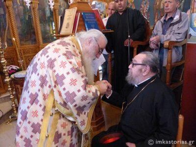 Εκοιμήθη ο Ιερέας της Μητρόπολης Καστοριάς π. Κωνσταντίνος Κοτσαμπουϊκίδης-σήμερα η Εξόδιος Ακολουθία