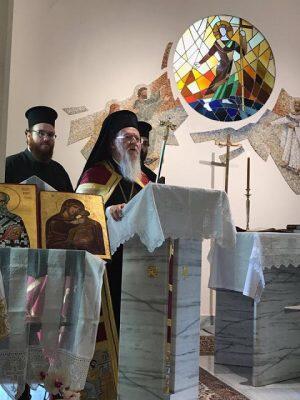 Η επίσκεψη του Οικουμενικού Πατριάρχη στην Άγκυρα