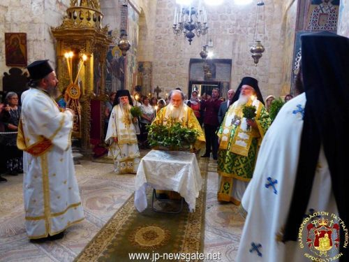 Η συγκλονιστική ομιλία του Πατριάρχη Ιεροσολύμων στην Ιερά Μονή Τιμίου Σταυρού