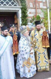Θεσσαλονίκη: Πλήθος Αρχιερέων στη λιτάνευση εικόνων Παναγίας Κανάλας και Αγίου Δημητρίου