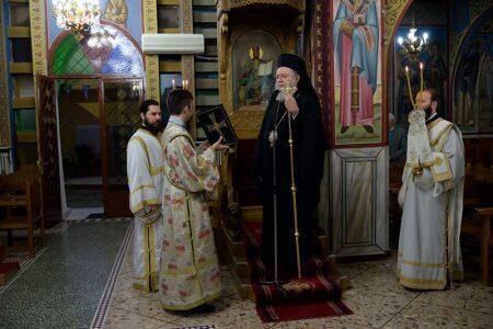 Μητρόπολη Χαλκίδος: Λαμπρά Εγκαίνια Ι. Ναού Αγίου Νικολάου Ενορίας Πάλιουρα Διρφύων