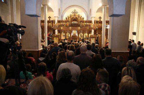 Στη Γουμένισσα ο Αρχιεπίσκοπος για τα εγκαίνια της Ι. Μ. Αγίων Ραφαήλ, Νικολάου και Ειρήνης