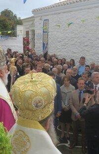 Μητρόπολη Σύρου: Τρισαρχιερατική Θεία Λειτουργία μετακομιδής ιερών Λειψάνων Αγίου Ιγνατίου