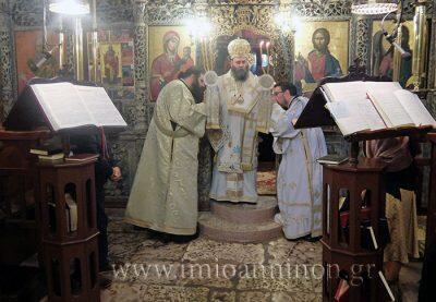 Μητρόπολη Ιωαννίνων: Θεία Λειτουργία στον Ιερό Ναό Αγίου Νικολάου Μαρμάρων