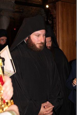 Συγκίνηση κατά την Κουρά του Μοναχού Πορφυρίου