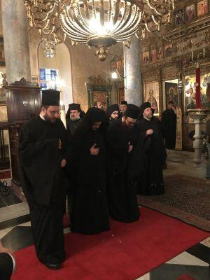 Στο Μετόχι του Παναγίου Τάφου στο Νιχώρι ο Πατριάρχης Βαρθολομαίος