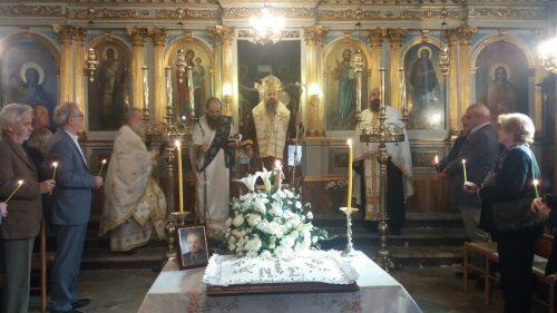 Τεσσαρακονθήμερο μνημόσυνο του αειμνήστου Νικολάου Στραγαλινού στη Μητρόπολη Λευκάδος