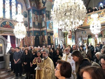 Θεία Λειτουργία στον Ι.Ναό Αγ. Νικολάου Πλαταιών – Αγρυπνία στον Ι.Ν.Μεταμορφώσεως του Σωτήρος Ιτέας
