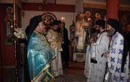 Στην Ιερά Μονή Αγίας Σκέπης στα Ελληνοτουρκικά σύνορα ιερούργησε ο Διδυμοτείχου Δαμασκηνός