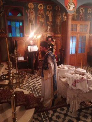 Πανηγυρικός Εσπερινός Αγίας Αναστασίας της Ρωμαίας στους Τσουκαλάδες Λευκάδος