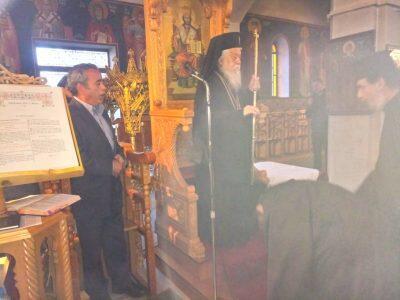 Μητρόπολη Παραμυθίας: Χειροτονία Πρεσβυτέρου Αθανασίου Παπαδόπουλου