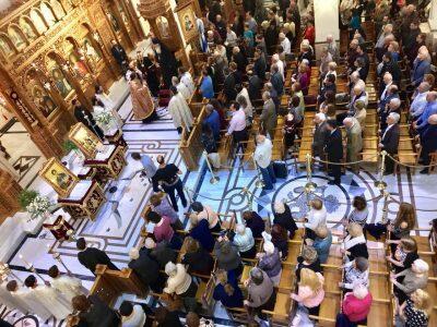 Εορτή Αγίου Δημητρίου: Ο Θηβών Γεώργιος προσεκόμισε Ιερά λείψανα από τη Μονή Ιωάννου Θεολόγου Μαζαρακίου