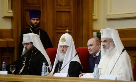 Ο Μόσχας Κύριλλος στην Πανηγυρική Συνεδρίαση της Ιεράς Συνόδου της Εκκλησίας της Ρουμανίας