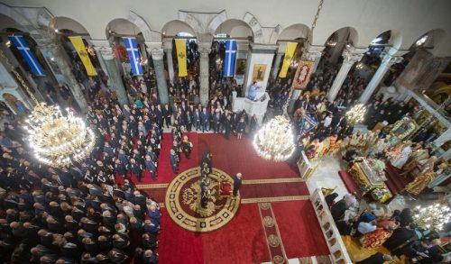 Άγιος Δημήτριος-ζωντανά: Πανηγυρικό Πολυαρχιερατικό Συλλείτουργο για το πολιούχο της Θεσσαλονίκης