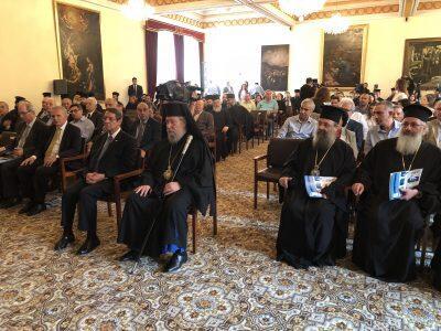 Λευκωσία: Χαιρετισμός Πατρών Χρυσοστόμου στο Συνέδριο για τον Άγιο Απόστολο Ανδρέα