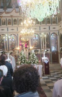 Μνημόσυνο φιλευσεβούς πολύτεκνης Ερμουπολίτισσας τέλεσε σήμερα ο Σύρου Δωρόθεος