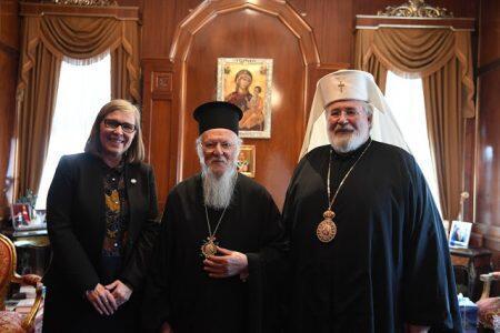 Στο Οικουμενικό Πατριαρχείο ο Αρχιεπίσκοπος Καρελίας και πάσης Φιλλανδίας Λέων