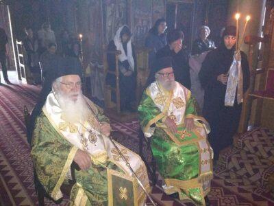 Τεσσαρακονθήμερο Μνημόσυνο μακαριστής μοναχής Τατιανής της Ιεράς Μονής Αγίας Παρασκευής Κορωνείας