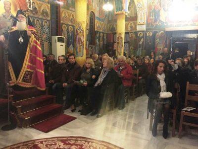 Συγκινητική η προσέλευση των πιστών στον Μέγα Πανηγυρικό Εσπερινό του Αγίου Ανδρέα στο Φυτόκο