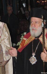 Στον Ιερό Ναό του Αγίου Αιμιλιανού ο Μητροπολίτης Σύρου Δωρόθεος
