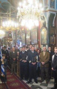 Ερμούπολη: Πλήθος κόσμου στη Σύναξη των Αρχιστρατήγων και Ταξιαρχών Μιχαήλ και Γαβριήλ