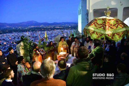Άργος: Η Λιτανεία της Θαυματουργής εικόνας της Παναγίας Πορτοκαλούσας