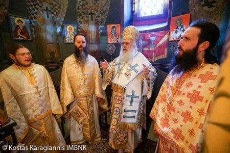 Λαμπρή Εορτή του Αγίου Κλήμεντος στην Ι.Μ. Τιμίου Προδρόμου Βεροίας