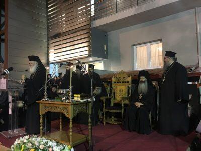 Ο Αρχιεπίσκοπος στα εγκαίνια του Πνευματικού Κέντρου του Ι. Ν. Αγίου Γεωργίου Γιαννιτσών