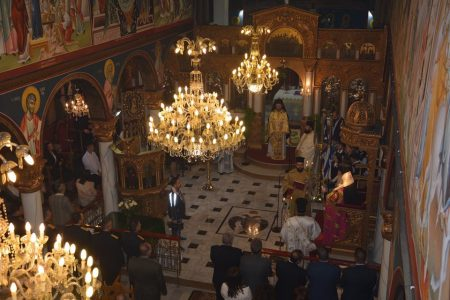 Μητρόπολη Ελευθερουπόλεως: Η Εορτή της Αγίας Σκέπης και η Εθνική Επέτειος της 28ης Οκτωβρίου