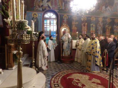 Μητρόπολη Κορίνθου: Εορτή της μνήμης του Οσίου Δαυίδ του εν Ευβοία