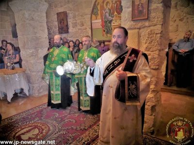 Λαμπρή Εορτή Αγίου Δημητρίου στο Πατριαρχείο Ιεροσολύμων