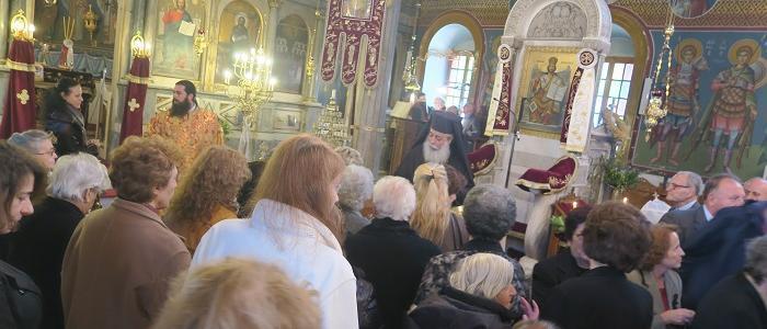 Μητρόπολη Φθιώτιδος: Αρχιερατική Χοροστασία στον Ιερό Ναό Αγίων Θεοδώρων Αταλάντης