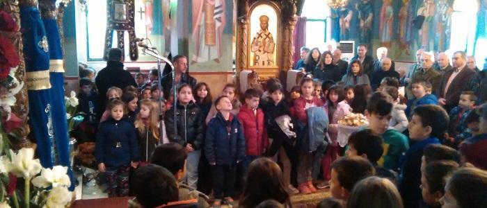Λαμπρή Εορτή των Εισοδίων της Θεοτόκου στο Σταυρό Λαμίας