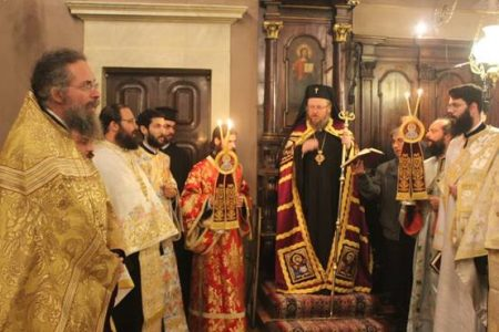 Πανηγυρικός Αρχιερατικός Εσπερινός στο Ιερό Προσκύνημα του Αγίου Σπυρίδωνος
