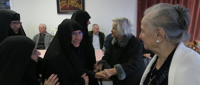 Ετήσια Σύναξη Μοναζουσών της Μητρόπολης Φθιώτιδος στο Γηροκομείο Στυλίδος