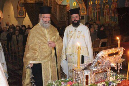 Φάρσαλα: Ιερά Αγρυπνία ενώπιον του αποτμήματος του ιερού λειψάνου του Αγίου Ανδρέα