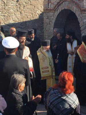 Με συγκίνηση η Λέσβος αποχαιρέτησε τον ηγούμενο της Μονής Υψηλού Αρχιμανδρίτη Ραφαήλ